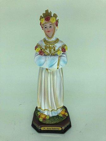 Nossa Senhora de Salette resina 20 cm (A5257)