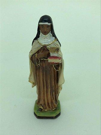 Santa Ifigênia resina 7 cm (A2272)