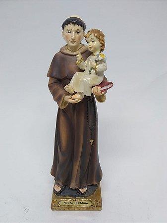 Santo Antônio resina 20 cm