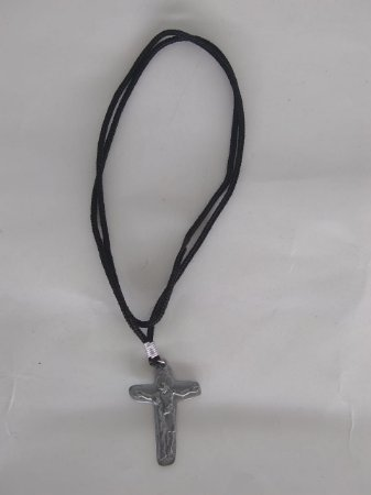 Cordão com Cruz da Unidade Prata Velha (6069)
