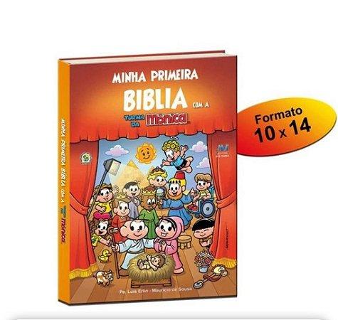 Minha Primeira Bíblia com a turma da Mônica - Bolso (2464)