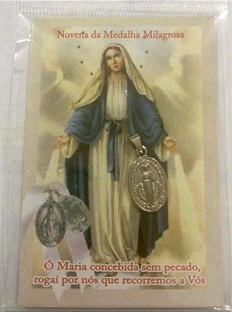 Novena da Medalha Milagrosa com Medalha (5217)