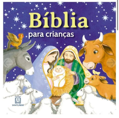 Bíblia para crianças - Santuário (7837)