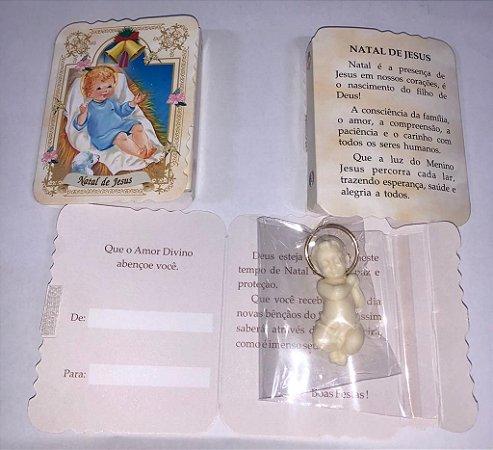 Lembrança com Menino Jesus mini (8153)