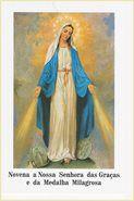 Folheto Novena a Nossa Senhora das Graças e da Medalha Milagrosa (2451)