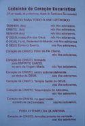 Folheto Ladainha do Coração Eucarístico (3134)