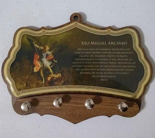 Porta chaves moldado - São Miguel (5993)