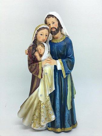 Sagrada Família 20cm strass (8009)