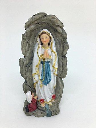 Nossa Senhora de Lourdes gruta 14cm (8197)