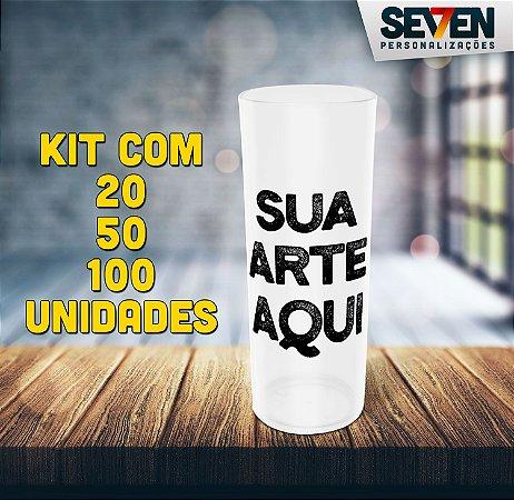 Copo long drink personalizado (kit c/ 20, 50 ou 100 unidades)