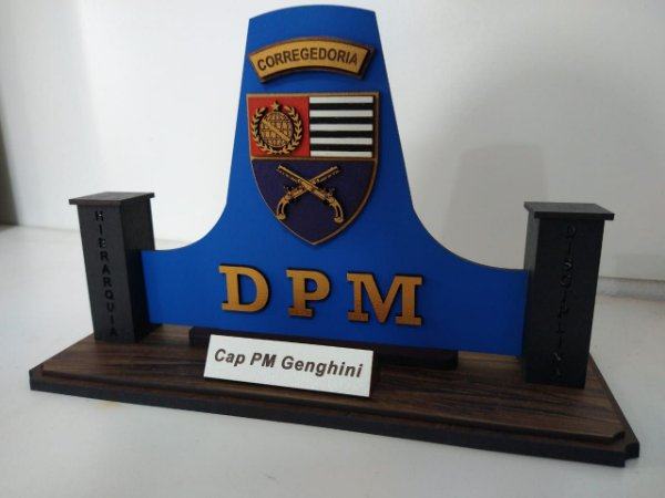 Lembrança Corregedoria da Polícia Militar de SP