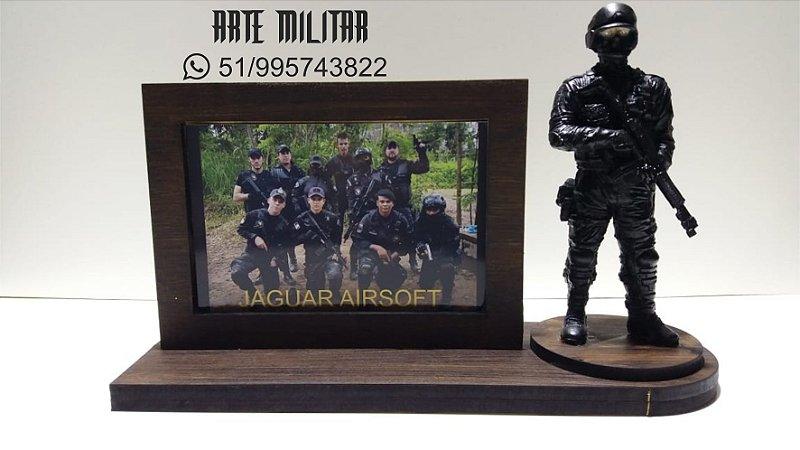 Miniatura Militar Airsoft / GOE / Polícia Civil