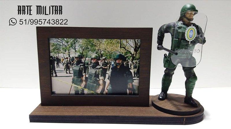 Miniatura Militar Choque Exército