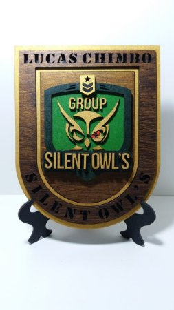 Panóplia SILENT OWL'S AIRSOFT