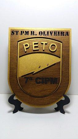 Panóplia PETO 7ª CIPM BAHIA
