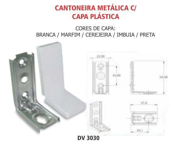 cantoneira metalica com capa plastica