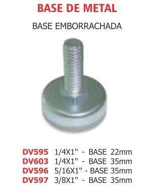 Base de metal regulavel