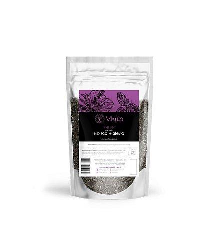 Hibis Tea - Chá de Hibisco com Stevia natural (50g)
