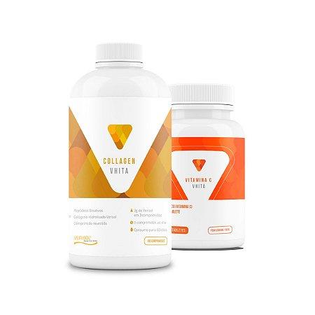 Combo Cuidados com a Pele: Collagen + Vitamina C (10% OFF)