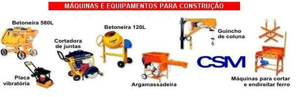 Maquinas P/Construções