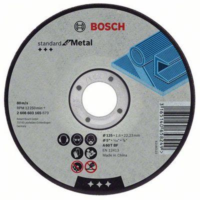 DISCO DE CORTE PARA AÇO 230X3,2X22,2MM 2T 2608600324 - BOSCH