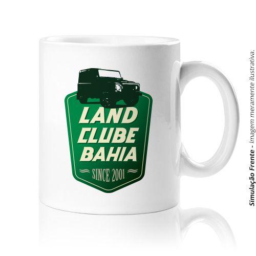 Caneca em Porcelana :: Land Clube da Bahia