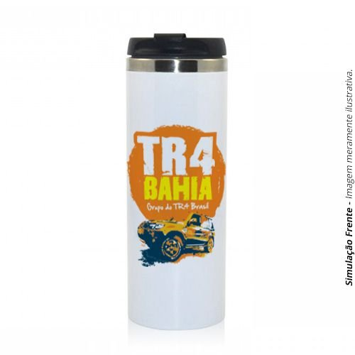 Copo Térmico Jumbo 450ml em Alumínio :: TR4 Bahia