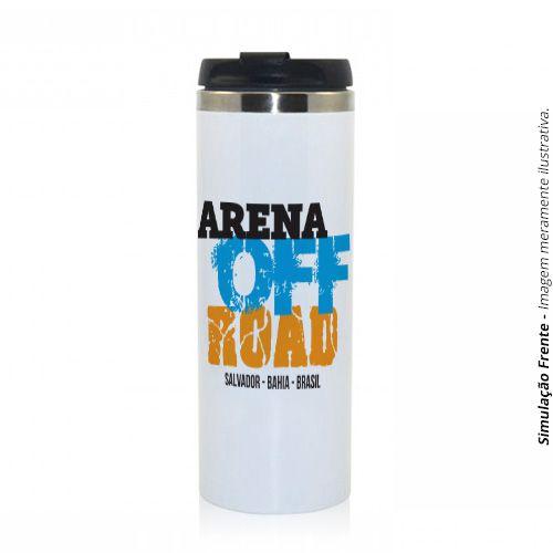 Copo Térmico Jumbo 450ml em Alumínio :: Arena Off Road