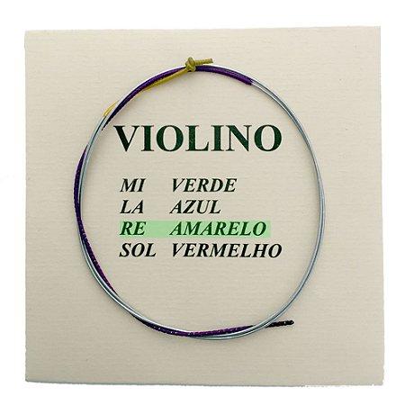 Corda Re Avulsa M Calixto para Violino 4/4