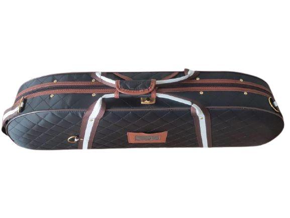 Estojo Violino 4/4 Extra Luxo Premium Térmico Meia Lua