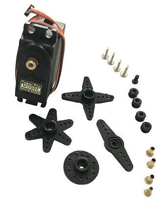 Servo Motor Mg995 Tower Pro Engrenagem Metal