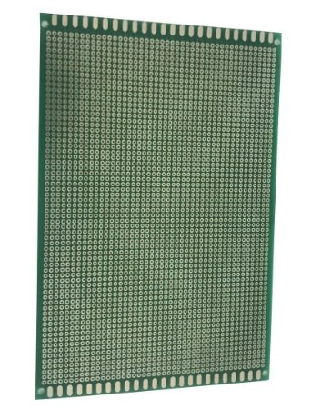 Placa Perfurada Fibra De Vidro Face Simples 12X18Cm