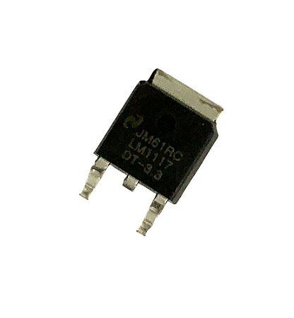 Circuito integrado Regulador Tensão 3.3v Ams1117 LM1117DTX-3.3 TO-252