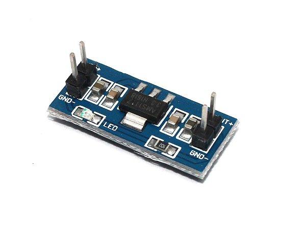 Módulo Regulador De Tensão 5v Para 3.3v AMS1117