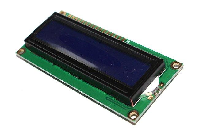 Display LCD 16x02 Backlight Azul