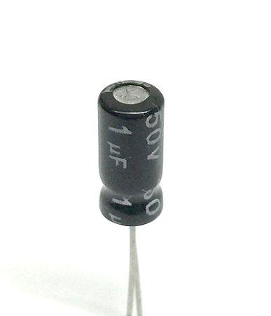 Capacitor Eletrolítico 1uF 50v - 10 Unidades