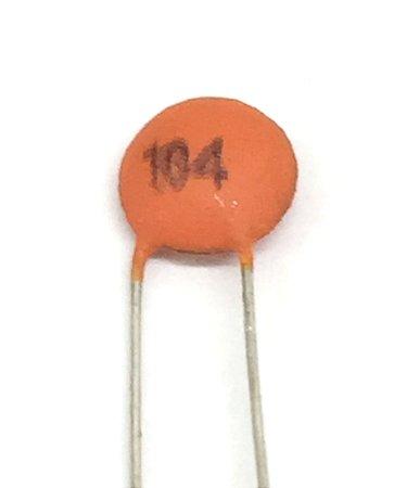 Capacitor Cerâmico 104 100nF - 10 Unidades
