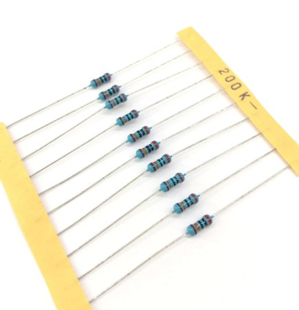 Resistor 1/4W 1% - 200K - 10 UNIDADES