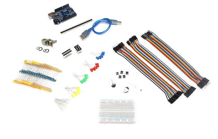 Kit Arduino Uno 192 Componentes