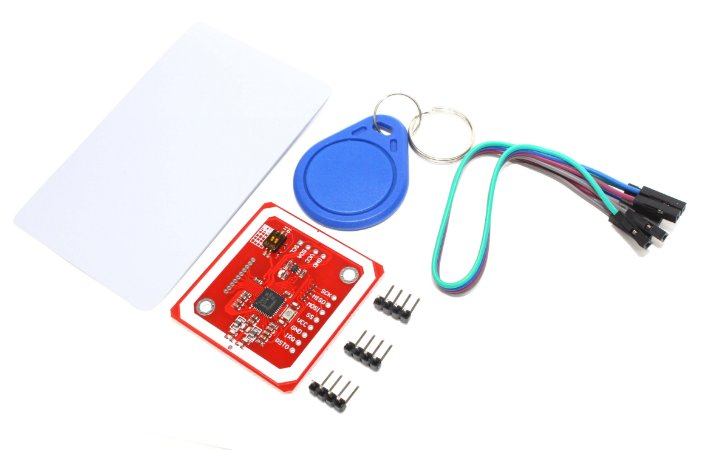 Kit Módulo Leitor RFID 13,56 Mhz PN532 Nfc + Cartão + Chaveiro