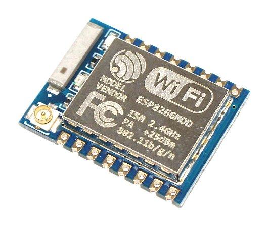 Módulo Wifi ESP8266 ESP-07 Suporte Antena Externa