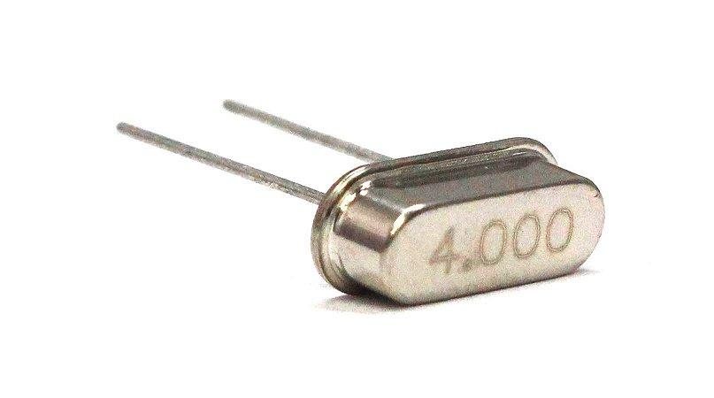 Cristal Oscilador HC49S 4 Mhz