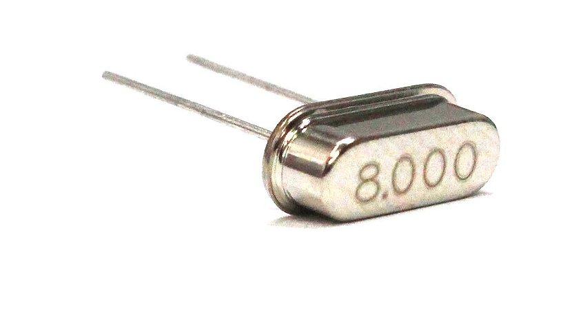Cristal Oscilador HC49S 8 Mhz