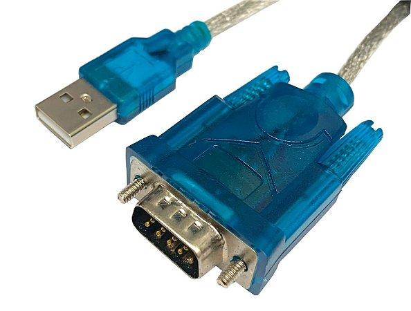 Cabo Conversor USB 2.0 Serial RS232 DB9 MACHO