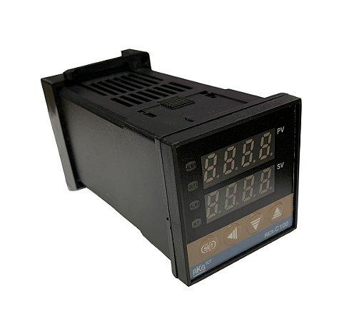 Controlador de Temperatura REX C100 - Termostato