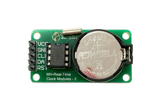 Módulo Rtc Ds1302 Relogio para Arduino + Bateria