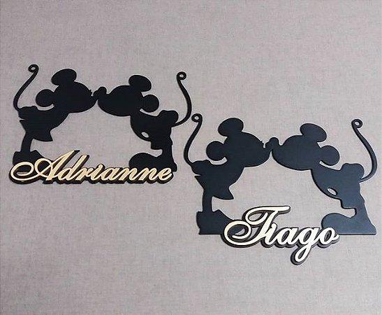 Placa p/ Cadeiras Minnie e Mickey (Valor Unitário)