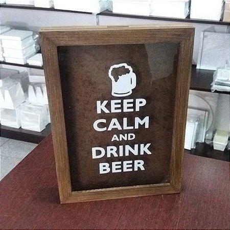 Moldura para Tampinha de Cerveja