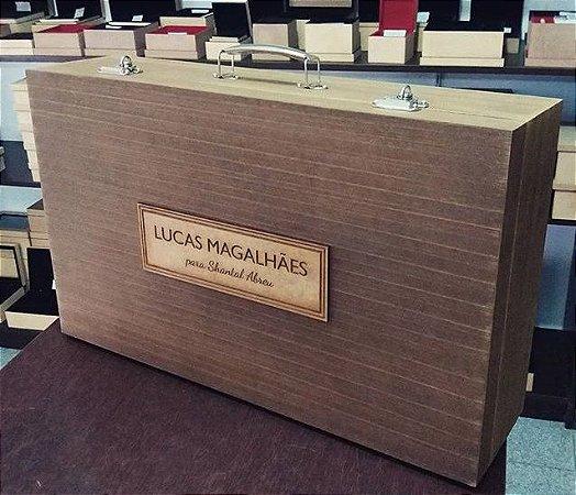 LUCAS MAGALHÃES - Maleta p/ Kit Pintura