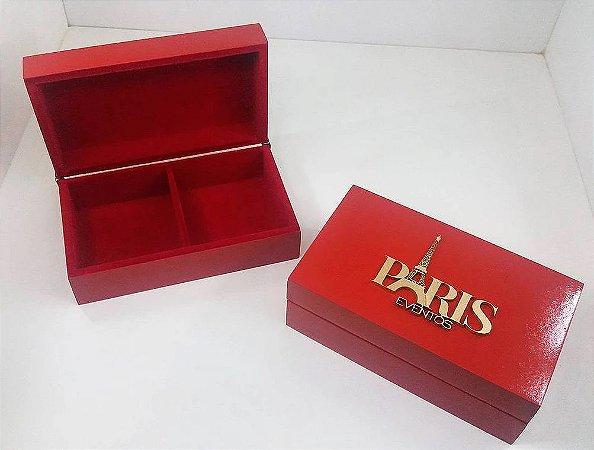 PARIS EVENTOS - Caixa para 2 Pães de Mel